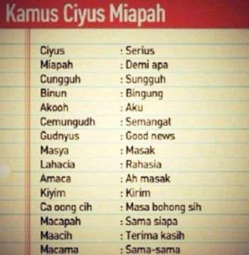 Ciyus Miapah